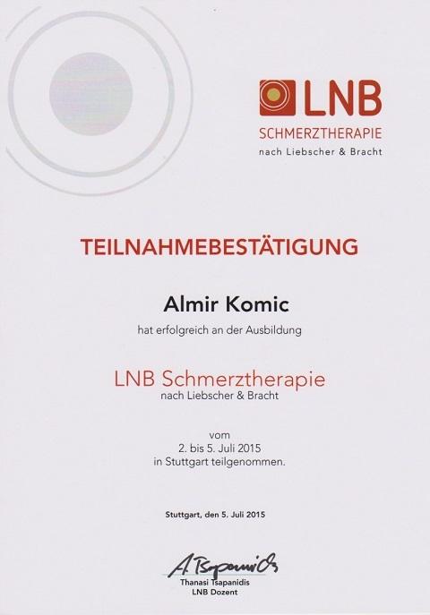 LNB Schmerztherapie in Uhldingen-Mühlhofen am Bodensee
